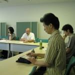 2011年9月15日ドミニク・レステル氏ワークショップの光景2:参加者